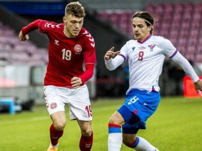 Esordio con gol in Nazionale maggiore per Skov Olsen, restano in panchina Orsolini e Skorupski