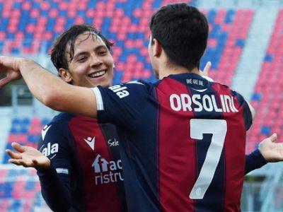 Primo tempo da sbadigli, poi Soriano sveglia il Bologna: 2-0 alla Reggina con Vignato e Orsolini, porta inviolata dopo 39 gare