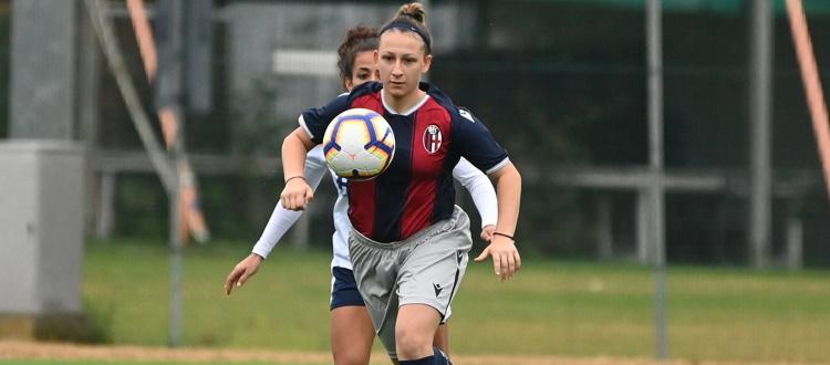 Una doppietta della Sciarrone lancia il Bologna Femminile all'esordio in campionato: Sassari Torres ribaltata 2-1