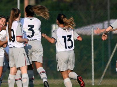 Bologna Femminile a valanga sulla Vis Civitanova: 8-0 e terzo successo di fila in campionato