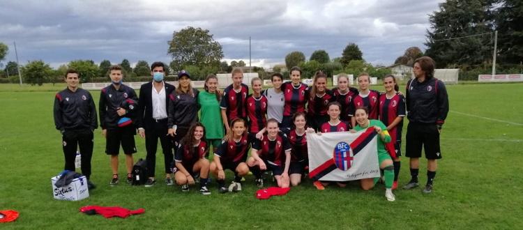 Il Bologna Femminile parte bene: Polisportiva Cella sconfitta 2-1 in Coppa Italia di Serie C