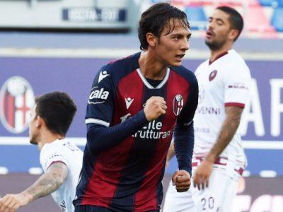 Primo gol in maglia rossoblù per Vignato, 480° marcatore nella storia del Bologna