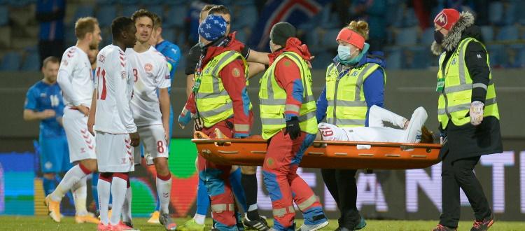 Bologna, è una maledizione: frattura di una vertebra lombare per Skov Olsen in Nazionale, stop di 6 settimane