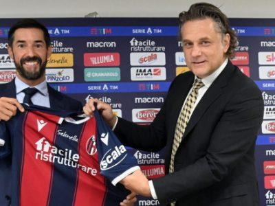 Presentato lo sleeve sponsor Scala, il marchio del gruppo Deco Industrie accompagnerà il Bologna nella stagione 2020/21