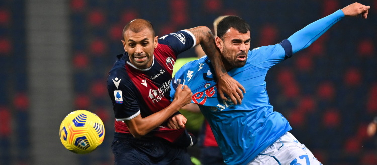 Bologna meno bello ma più accorto, tenere testa al Napoli senza mezza squadra non era facile. Bene Vignato, male Danilo, malissimo Denswil