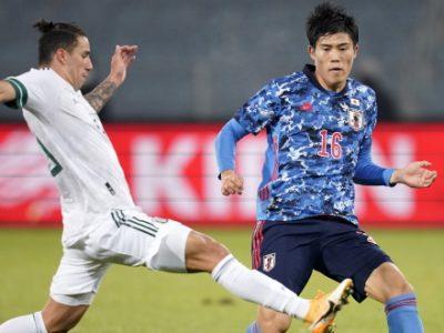 Giappone sconfitto 2-0 dal Messico, 90 minuti per Tomiyasu. Dominguez e Svanberg restano in panchina