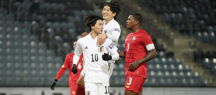 Il Giappone batte 1-0 Panama in amichevole, Tomiyasu non impiegato