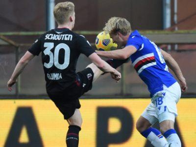 Solo crampi per Schouten, domani ripresa degli allenamenti in vista della Coppa Italia