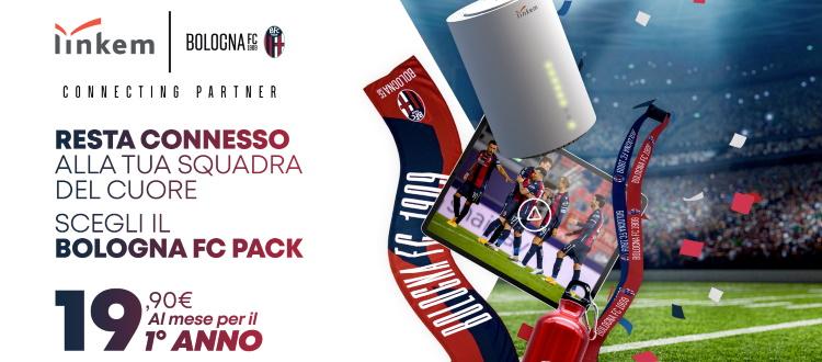 Linkem rinnova la partnership col Bologna e lancia il Bologna FC Pack