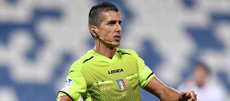 Sampdoria-Bologna sarà diretta da Livio Marinelli di Tivoli