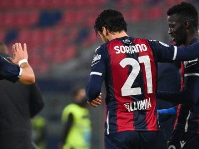 Barrow decisivo con due colpi da campione, Soriano da Nazionale. Orsolini incisivo, la corsia mancina patisce la verve del Cagliari