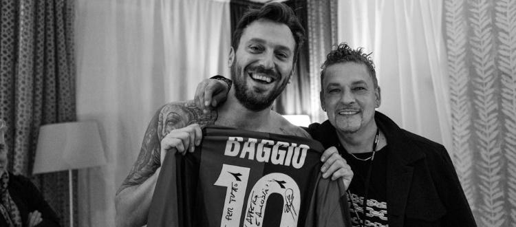 Baggio si racconta a Cremonini: