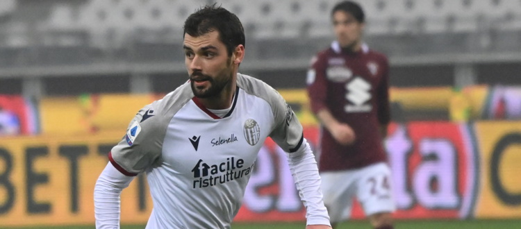 Il capitano Andrea Poli raggiunge quota 100 presenze con la maglia del Bologna