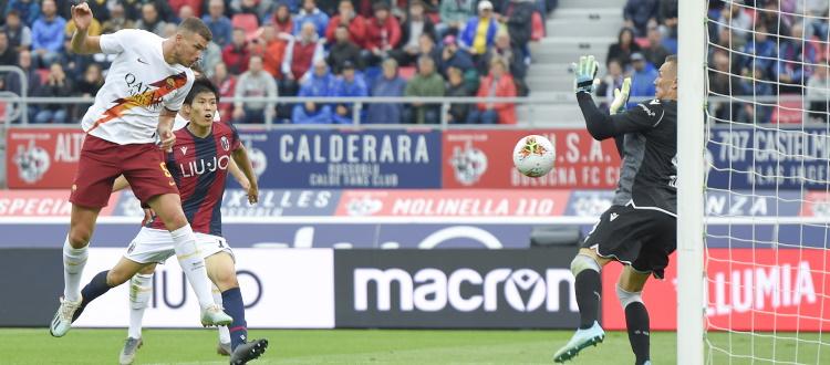 Solo una vittoria del Bologna nelle ultime 10 sfide contro la Roma al Dall'Ara, l'anno scorso beffa di Dzeko al 94'