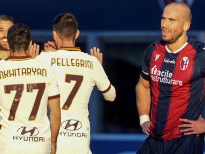 Bologna-Roma è un gioco al massacro: rossoblù disastrosi, finisce 1-5
