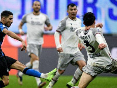 Lukaku e doppio Hakimi, l'Inter si sbarazza 3-1 di un Bologna troppo timoroso. Non basta il gol di Vignato
