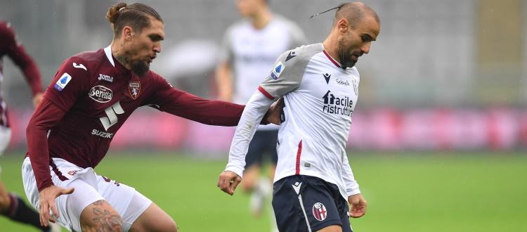 Bologna quasi perfetto, è mancata solo la vittoria. Il 4-2-3-1 è una certezza, gara condizionata dagli errori di Da Costa e Palacio