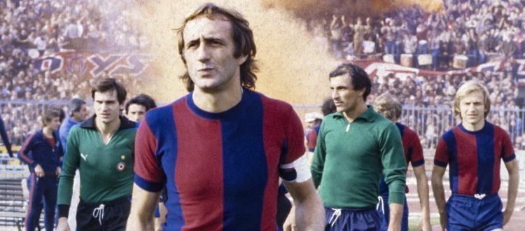 Scomparso a 71 anni l'ex difensore e capitano del Bologna Mauro Bellugi, stasera rossoblù con il lutto al braccio