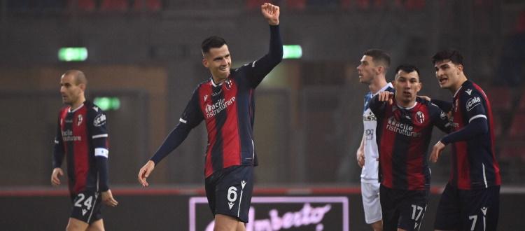 Bologna, roba da Paz! Atalanta sul 2-0 con doppio Muriel, poi Tomiyasu e l'argentino regalano ai rossoblù un pareggio d'oro