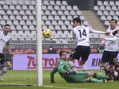 Un buon Bologna si complica la vita e poi conquista un punto prezioso a Torino: 1-1, a segno gli ex Verdi e Soriano