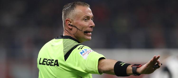 Inter-Bologna sarà diretta da Paolo Valeri di Roma