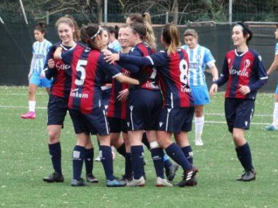 La sosta non ha arrugginito il Bologna Femminile: Aprilia Racing regolata 3-1 a domicilio, rossoblù capoliste