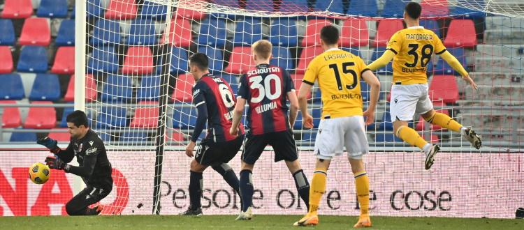 Bologna maturo e in controllo fino all'espulsione di Svanberg, l'arbitraggio ha inciso ma la squadra si è fatta schiacciare troppo