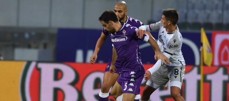Dominguez diffidato e ammonito a Firenze, l'argentino dovrà saltare Bologna-Udinese