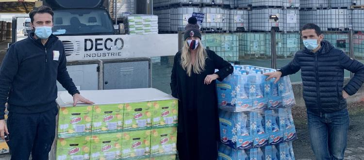 Bologna e Scala, terza donazione di prodotti alle onlus Arca della Misericordia e Case Zanardi