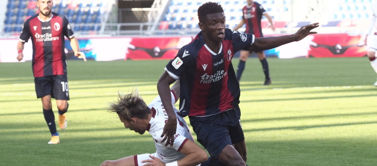 Seduta di scarico per il Bologna, recuperato anche Mbaye. Domani riposo, da martedì si pensa alla Juventus