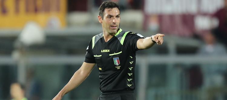 Juventus-Bologna sarà diretta da Juan Luca Sacchi di Macerata