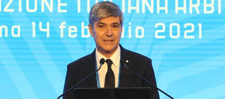 Alfredo Trentalange eletto presidente dell'AIA, l'ex arbitro torinese ha sconfitto Marcello Nicchi
