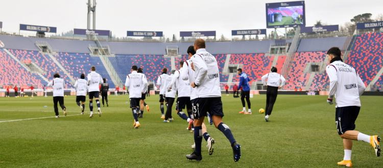 Ripresa degli allenamenti verso Parma-Bologna, Medel e Faragò ancora a parte. Visite mediche per il nuovo acquisto Antov