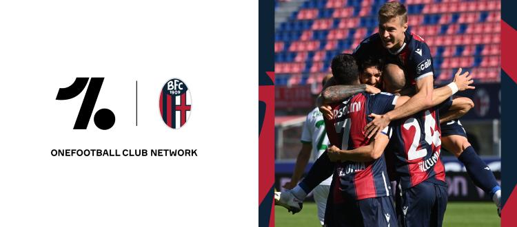Il Bologna raggiunge Zerocinquantuno su OneFootball: da oggi tutte le news ufficiali del club sono sull'app sportiva più seguita al mondo