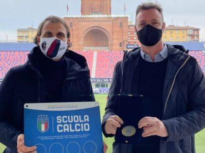Il Bologna riceve il riconoscimento di Scuola Calcio Élite dalla FIGC Emilia-Romagna. Chiatti: