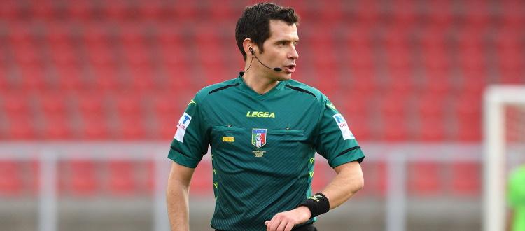 Bologna-Benevento sarà diretta da Davide Ghersini di Genova