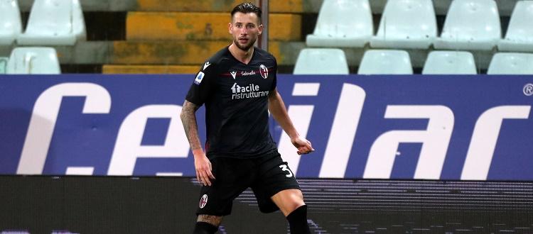 Seduta di scarico all'indomani di Parma-Bologna, qualche punto di sutura al ginocchio per Dijks