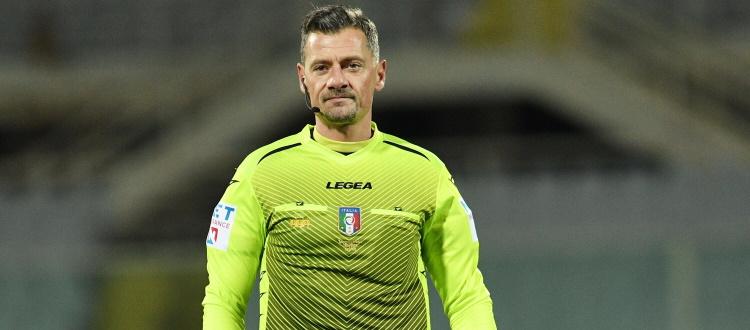 Bologna-Lazio sarà diretta da Piero Giacomelli di Trieste