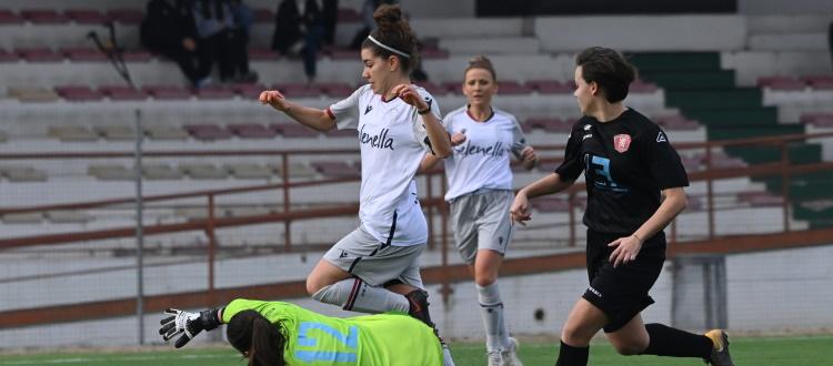 Un altro successo per il super Bologna Femminile: Jesina piegata 2-1 con Magnusson e Mastel