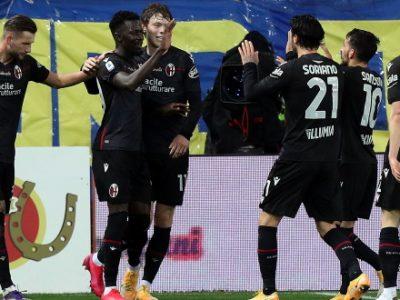 Attributi, qualità e bomber Barrow: il Bologna domina e sbanca Parma 3-0, a segno anche Orsolini