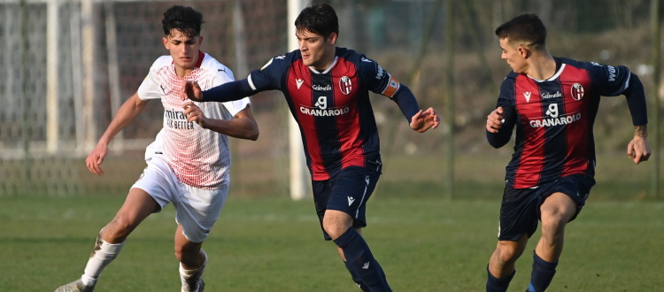 Doppio Rabbi e Farinelli piallano il Milan, super vittoria del Bologna Primavera: 3-0!