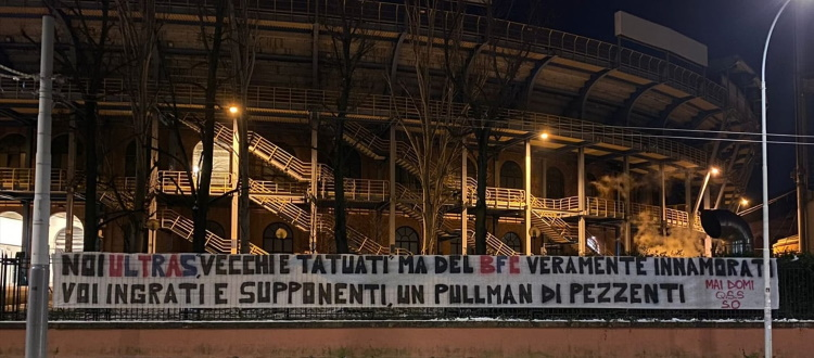 Striscione e comunicato di tre gruppi ultras, Mihajlovic nel mirino:
