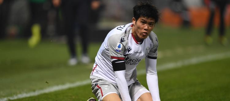 Lesione muscolare per Baldursson e Tomiyasu, 2-3 settimane di stop. Contro la Lazio tornano Dijks e Poli, convocato anche il 2002 Annan