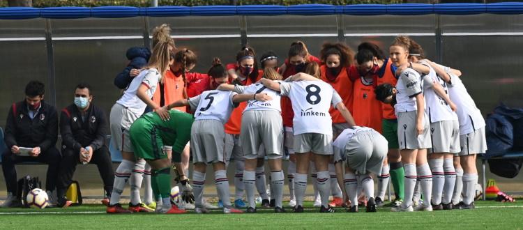 Quattro positive al COVID nel Bologna Femminile, rinviata la gara di domani contro l'Arezzo