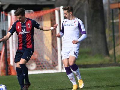 Bologna Primavera, terza sconfitta di fila e caduta in zona playout: Fiorentina corsara 4-2