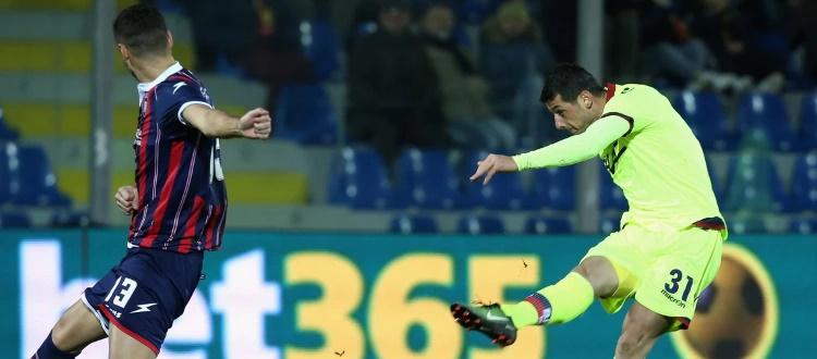 Crotone-Bologna, in Serie A una vittoria per parte: nel 2017 decisivo Dzemaili, nel 2018 Simy