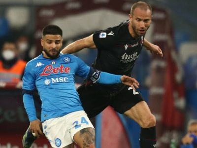 Il Bologna gioca, il Napoli vince: buona prova dei rossoblù al Maradona, ma alla fine è 3-1 per gli azzurri