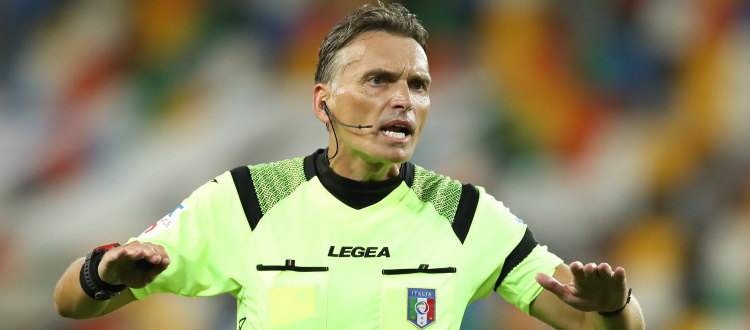 Bologna-Sampdoria sarà diretta da Massimiliano Irrati di Pistoia