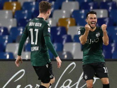 Napoli avanti 28-10 sul Bologna nei precedenti in Campania, 23 i pareggi. A fine 2019 colpo rossoblù con Skov Olsen e Sansone