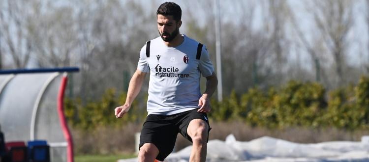 A Casteldebole ripresa degli allenamenti senza i nazionali, Faragò in parte coi compagni